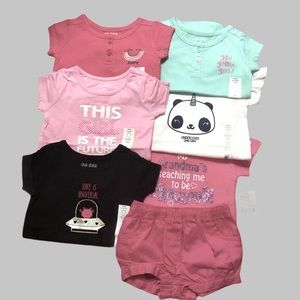 OKIE DOKIE T SHIRT BUNDLE ONESIES